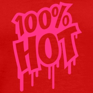 100 Procent Hot Graffiti T-shirts - Mannen Premium T-shirt