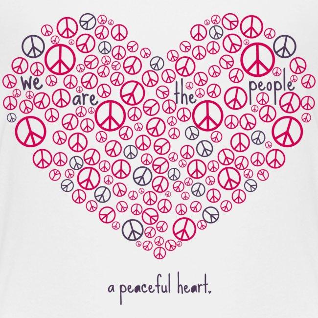 A Peaceful of Heart - Girls T-Shirt
