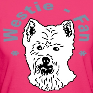 Westie-Fan T-Shirts - Frauen Bio-T-Shirt