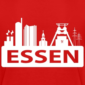 Skyline Stadt Essen T-Shirts - Teenager Premium T-Shirt