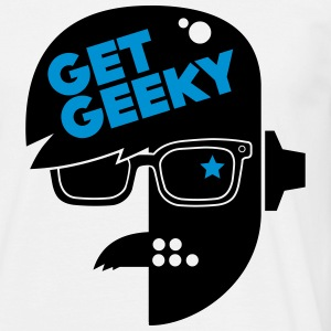 get geeky _01 Tee shirts - T-shirt Homme