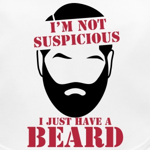 I'm not SUSPICIOUS I just have a BEARD! Accessories - Baby Organic Bib