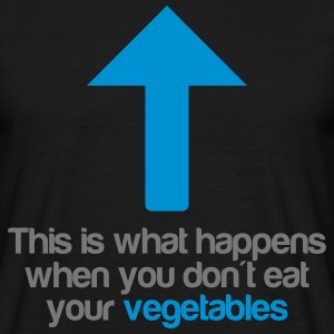 Eat your vegetables T-skjorter - T-skjorte for menn