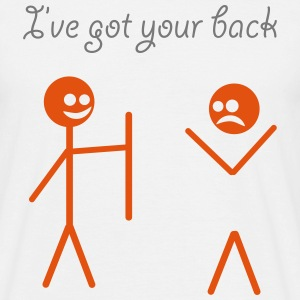 I've got your back T-shirts - T-shirt herr