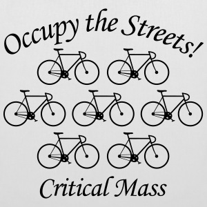 Critical Mass: Occupy the Streets! Taschen - Stoffbeutel