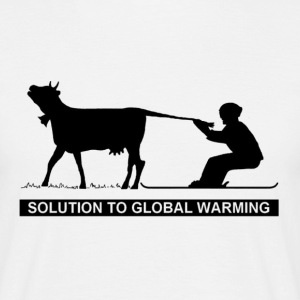 SOLUTION TO GLOBAL WARMING - T-shirt Homme