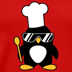 Cool Penguin Chef T-Shirts