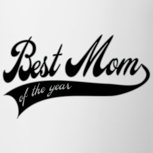best mom of the year  - moederdag Flessen & bekers - Mok