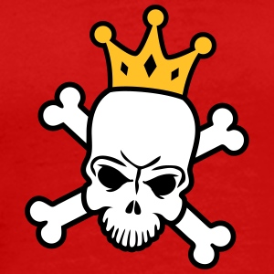 Skeleton King T-skjorter - Premium T-skjorte for menn