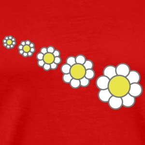 Flower Design T-Shirts - Men's Premium T-Shirt