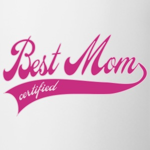 best mom certified - moederdag Flessen & bekers - Mok