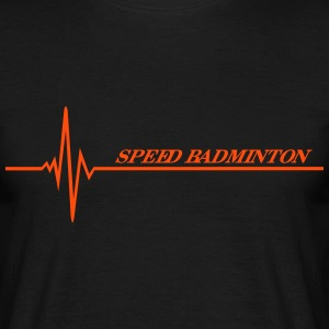 Speed Badminton T-shirts - T-shirt herr