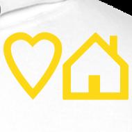 Design ~ Love House + Tribalmixes on Back - Overhead Hoodie