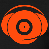 Design ~ Small Logo Only, Classic design (orange on black)