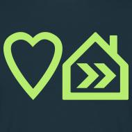 Design ~ Love Progressive House (Symbolic, L Green on Navy)