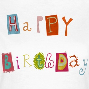 Happy Birthday T-Shirts - Women's T-Shirt