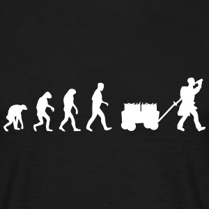 Vatertags Sauf Evolution T-Shirts - Männer T-Shirt