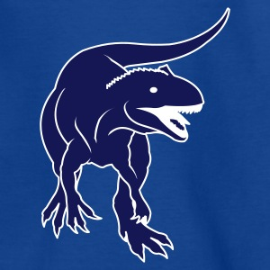 Bleu royal kids_dino_02_trex_spreadready T-shirts Enfants - T-shirt Ado