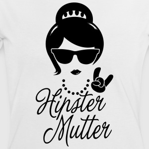 Like a hipster mutter muttertag boss geburtstag T-Shirts - Frauen Kontrast-T-Shirt