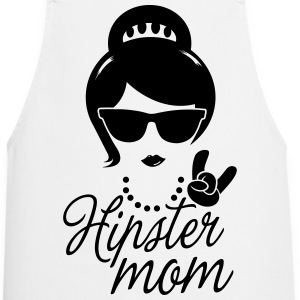 Like a i love hipster mother mom mother's day Tabliers - Tablier de cuisine