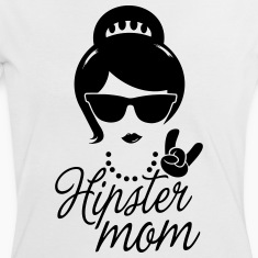 Like a i love hipster mother mom mother's day Camisetas
