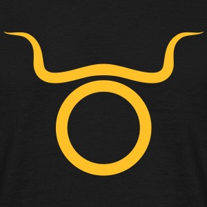 taurus zodiac astrology horoscope - Men's T-Shirt