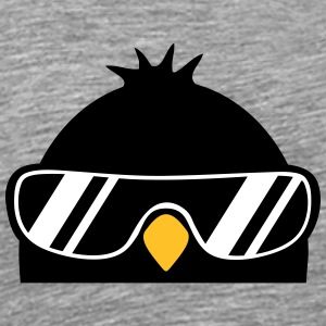 Cool Penguin Bird T-shirts - Herre premium T-shirt