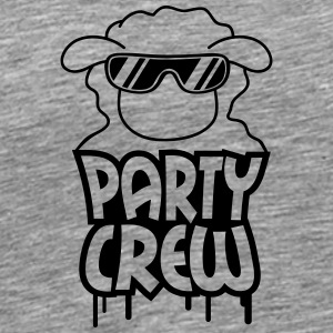 Party Crew Sheep T-Shirts - Men's Premium T-Shirt