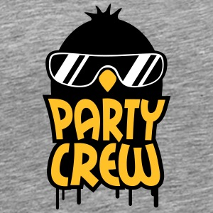Cool Party Crew Penguin T-shirts - Premium-T-shirt herr
