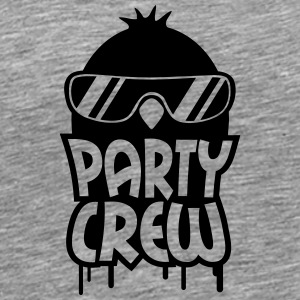 Cool Party Crew Penguin T-shirts - Herre premium T-shirt