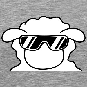Cool Sheep Head Tee shirts - T-shirt Premium Homme