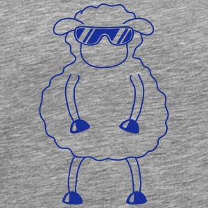 Cool Sheep T-skjorter - Premium T-skjorte for menn