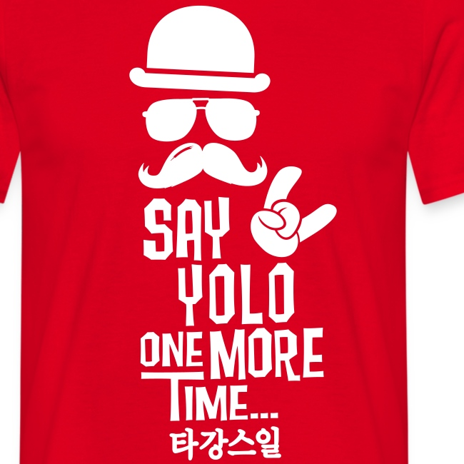 Say Yolo T-Shirt / Red