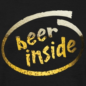 Beer Inside - Men's T-Shirt
