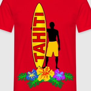 tahiti surfing T-Shirts - Men's T-Shirt