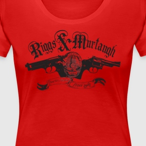 Riggs & Murtaugh (inspired by Lethal Weapon) - Women's Premium T-Shirt