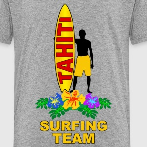 tahiti surfing team Shirts - Teenage Premium T-Shirt