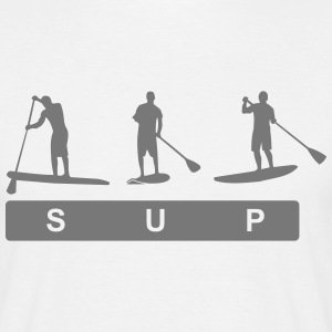 Sup,Stand up paddling,surfing,surfer,Stehpadeln, T-Shirts - Männer T-Shirt