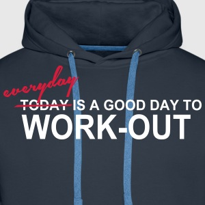 Everyday is a good day Sudaderas - Sudadera con capucha premium para hombre