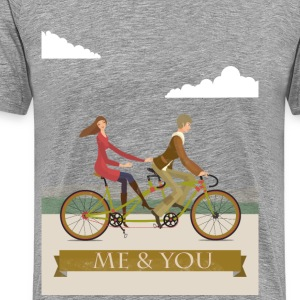 Me and You T-Shirts - Men's Premium T-Shirt