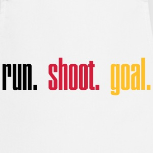 Run. Shoot. Goal.  3c Tabliers - Tablier de cuisine