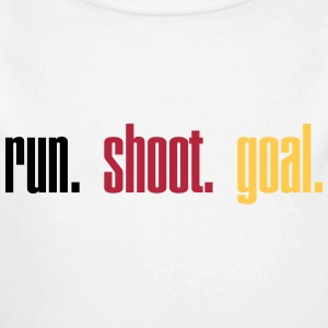 Run. Shoot. Goal.  3c Sweats - Body bébé bio manches longues