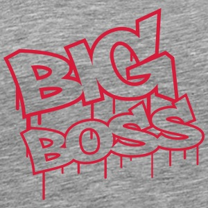 Big Boss Graffiti T-skjorter - Premium T-skjorte for menn