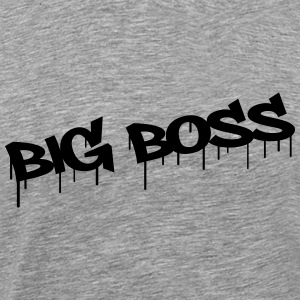 Big Boss T-skjorter - Premium T-skjorte for menn