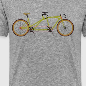 Tandem Bike T-Shirts - Men's Premium T-Shirt