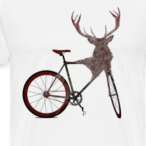 Stag Bike T-Shirts - Men's Premium T-Shirt