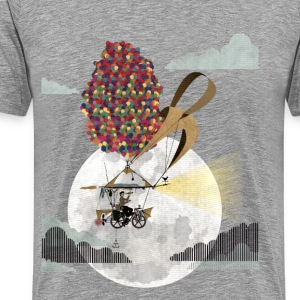 Flying Bike T-Shirts - Men's Premium T-Shirt