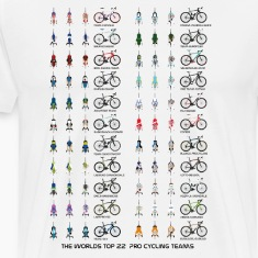 Pro Cycling Teams T-Shirts