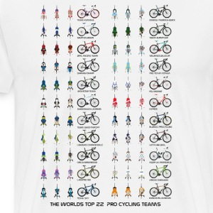 Pro Cycling Teams T-Shirts - Men's Premium T-Shirt