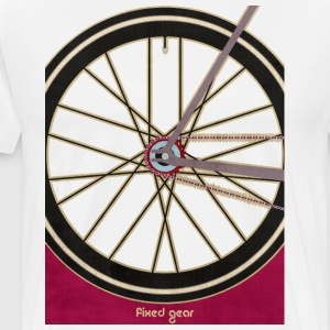 Single Speed Bicycle T-Shirts - Men's Premium T-Shirt